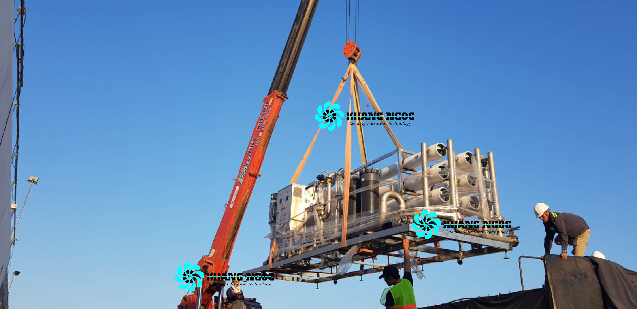 Hệ RO công nghiệp Khang Ngọc 1