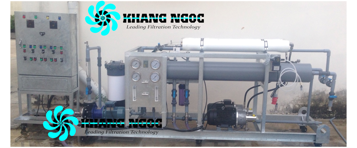 Hệ thống lọc RO công nghiệp 2
